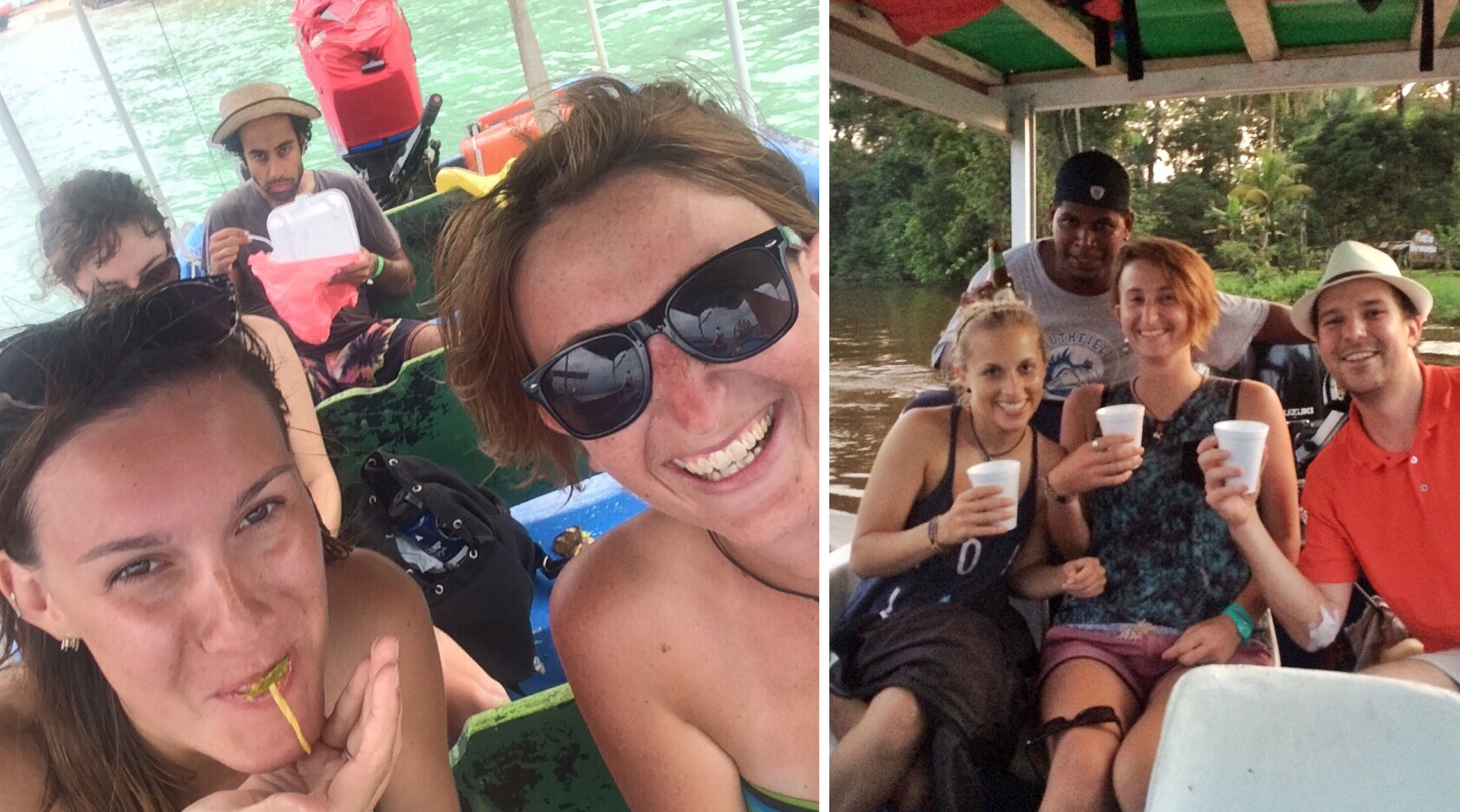 Boatin' boatin' boatin'.